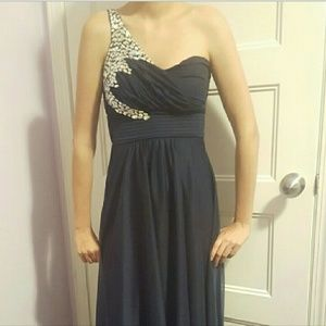 Sequin Hearts Prom / Formal dress
